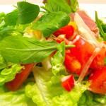 生ハムのマリネ風サラダ